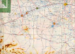 Historic Route 66 Map by Texasfreeway U003e Statewide U003e Historic Information U003e Old Road Maps