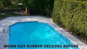 pool u0026 roof deck rubberized epoxy coating armorgarage