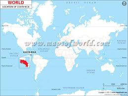 san jose costa rica on map where is costa rica location of costa rica
