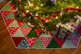 simple ideas tree skirt quilt patterns quilted happy