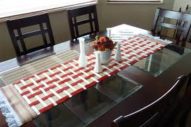 make your own table runner create your own burlap table runner homeliness