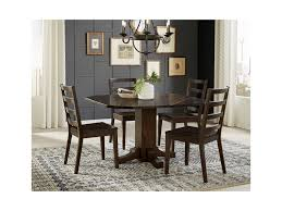 aamerica brooklyn heights 5 piece drop leaf dining set with