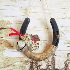 horseshoe christmas ornaments shop horseshoe decor on wanelo