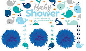 baby shower whale theme blue baby whale party supplies party city