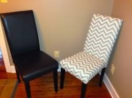How To Upholster A Dining Room Chair Reupholster Leather Dining Room Chair With Fabric Search