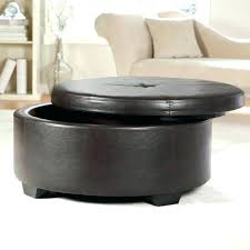 round upholstered coffee table fashionable round ottomans for sale round upholstered ottoman coffee