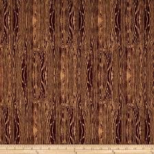 aviary 2 woodgrain bark brown discount designer fabric fabric