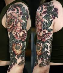 14 best floral tattoos images on pinterest comment floral