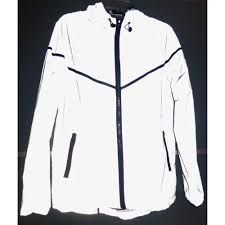 hooded cycling jacket snagshout brightluz high visibility super reflective hooded