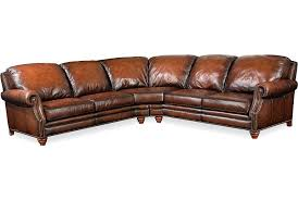 Drexel Heritage Bedroom Furniture Conley Sectional From The Leather Pairings Seating Collection By