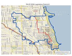 44th Ward Chicago Map by 2014 Primary General Elections Voter Guide
