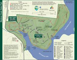 Nc State Parks Map by Park Trail Maps U2014 Tennessee State Parks