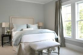 White Curtains With Blue Trim Decorating Graysilk Curtains Transitional Bedroom Goforth Design