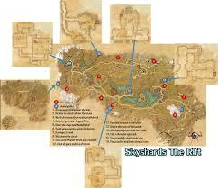 Eso Skyshards Map Skyshard Ebonheart