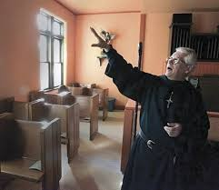 an afghan hounded by his past a tiny town a possibly haunted church and a u0027priest u0027 fleeing