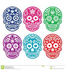 dia de los muertos decorations dia de los muertos or greeting card invitation mexican