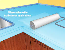 Can You Paint Corian Countertops How To Paint Countertops 5 Steps With Pictures Wikihow