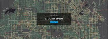 Los Angeles Street Cleaning Map by Data Spotlight Clean Streets U2013 Datala U2013 Medium