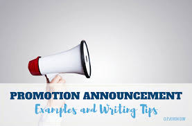 Change Of Address Announcement Letter Promotion Announcement Examples And Writing Tips
