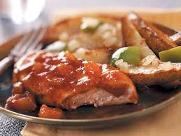 applesauce barbecue chicken recipe taste of home