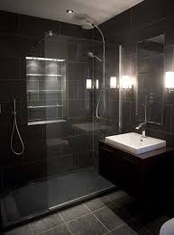 black tile bathroom ideas black bathroom tiles ideas thesouvlakihouse