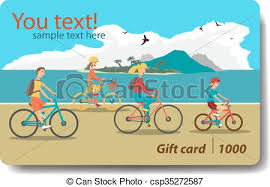 vacation gift cards vector of summer sale discount gift card branding design for