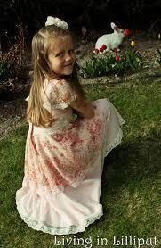 Old Fashioned Toddler Dresses Vintage Lace Girls U0027 Easter Dresses Living In Lilliput