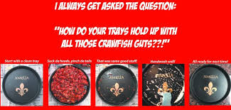 personalized crawfish trays 17 best images about custom crawfish trays on shops