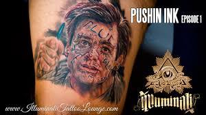 tattoo portraits on arm tattoo timelapse portrait tattoo realistic full color jim