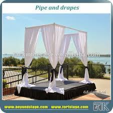wedding backdrop equipment wedding decoration equipment backdrop pole aluminum pipe drape