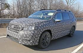 subaru tribeca 2016 2019 subaru ascent spy shots