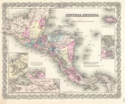 Map Of North And Central America by Maps Of North America And North American Countries Political