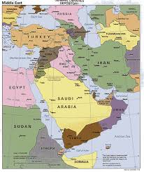 Physical Map Of North America by Middle East Geography Maps Of The Middle East This Website Shows