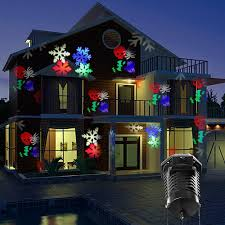 Halloween House Light Show by Kohree Christmas Multilcolor Projector Outdoor Light Snowflake