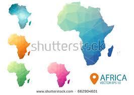 3d africa map vector map vector of africa