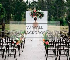 wedding backdrop hire brisbane ceremony packages gray station wedding styling hire