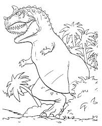 dinosaur colouring 10 print color free