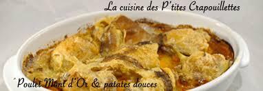 comment cuisiner des patates douces poulet au mont d or patates douces la cuisine des p tites
