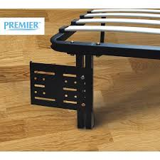 Premier Platform Bed Frame Premier Flex Headboard Footboard Brackets Black Walmart