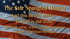 Christian Banner Flags In God Is Our Trust Verse Four The Star Spangled Banner Youtube