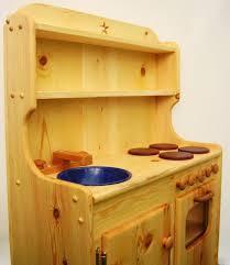 wooden childrens kitchen set