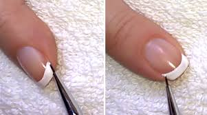 life world women french manicure for short nails without tape
