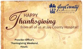 healthcare provider office s thanksgiving hours county hospital