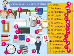 78 best classroom objects los objetos dentro del salon de clase