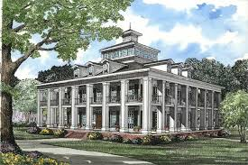 plantation style home plans 5 bedrm 4874 sq ft southern house plan 153 1187