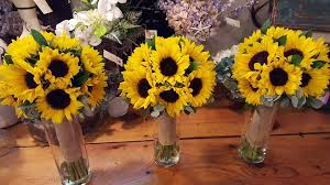 Sunflower Wedding Bouquet Sunflowers Wedding Bouquets In Wells Me Flowers By Christine