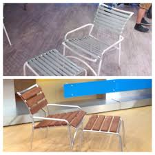 transform old patio chairs see how here http abcnews go com