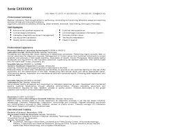 radiologic technologist resume skills medical technologist resume examples examples of resumes