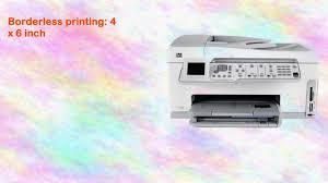 hp psc 2355 allinone multifunction printer copier scanner youtube