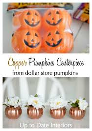 transform a dollar store pumpkin into this with spray paint